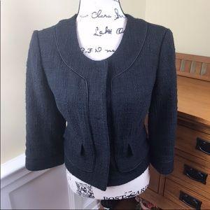 White House Black Market Textured Lined Blazer